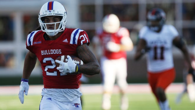 Louisiana Tech wide receiver Alfred Smith is one of a handful of returners needed to help replace Trent Taylor and Carlos Henderson.