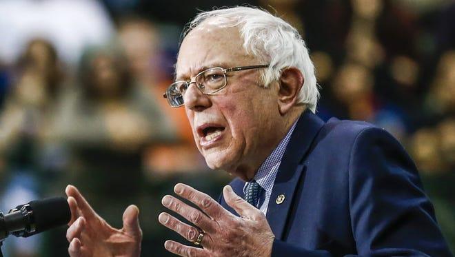 Sen. Bernie Sanders, I-Vt.