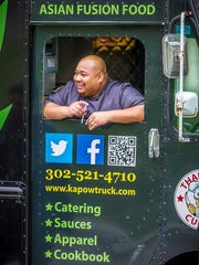 Wit Milburn, owner of the Kapow Food Truck, has opened the spin-off Kapow Kitchen in Booths Corner Farmers Market in Garnet Valley, Pennsylvania.