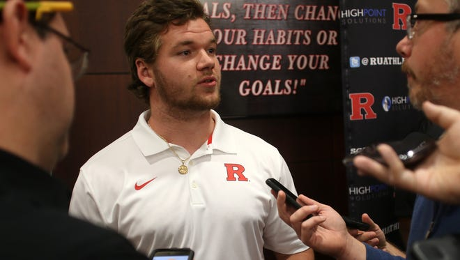 Jonathan Pollock is enrolled at Rutgers after a two-year commitment and could be in line for playing time in a shallow linebacker corps.
