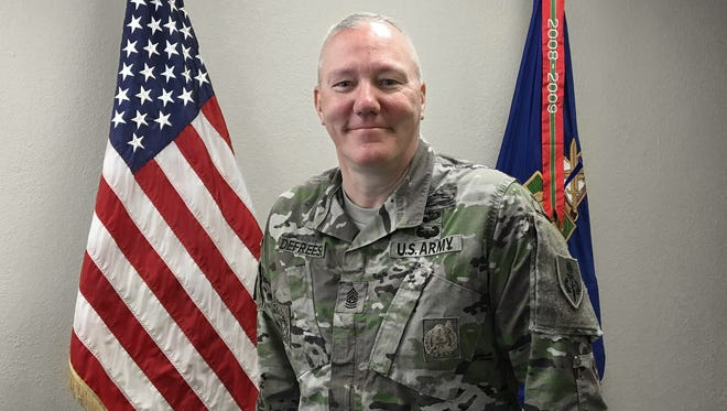 Command Sgt. Maj. Dennis Defreese is retiring and will relinquish being commandant of the U.S. Army Sergeants Major Academy on June 23.
