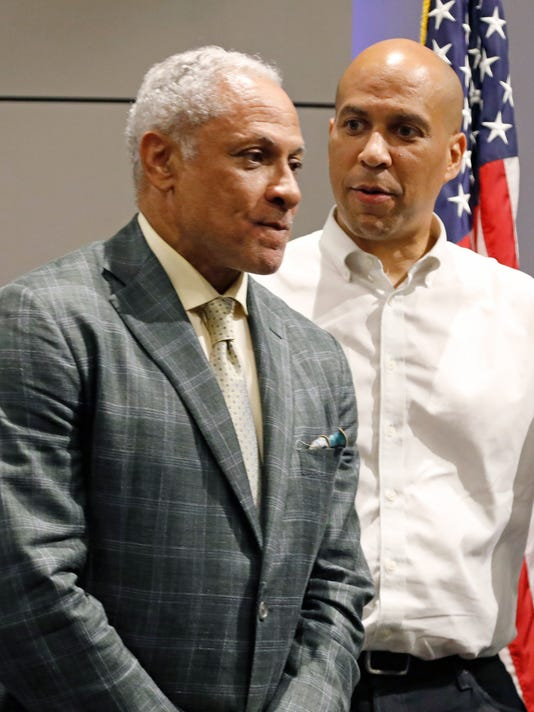 Cory Booker, Mike Espy