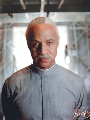 """Evansville native Ron Glass as Derrial Book in """"Firefly,"""" a role he played on the television show of that title, and later in """"Serenity,""""  a feature film."""