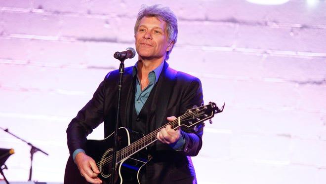 Jon Bon Jovi attends the Jon Bon Jovi Soul Foundation (JBJSF) benefit gala, celebrating ten years of combating hunger and homelessness, at The Garage on Thursday, Oct. 6, 2016, in New York.