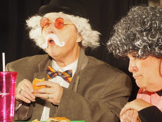 Karen Bodden, at left, and Mary Lynn Schrafnagel are