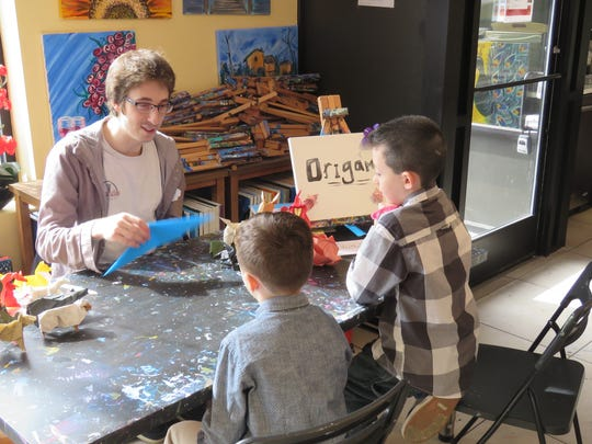 Kayla's Creative Art Studio held a grand re-opening event on March 19 and celebrated with families in the community.