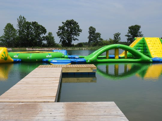 Though the Fondy Aqua Park isn't open yet, everything