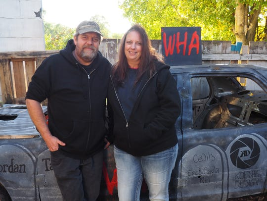 Dan and Tammy Cartwright, of Fond du Lac, run the Warriors