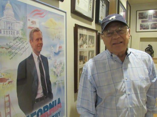 Former D A  Bradbury faces untreatable disease