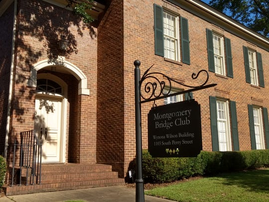 The Montgomery Bridge Club's new location at 1103 South