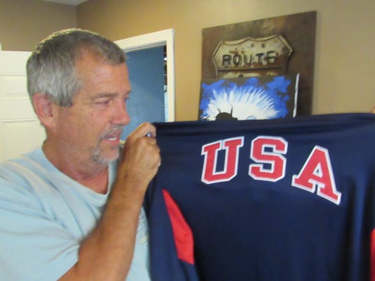 Tom Henry of Ventura is competing in the World Transplant Games.