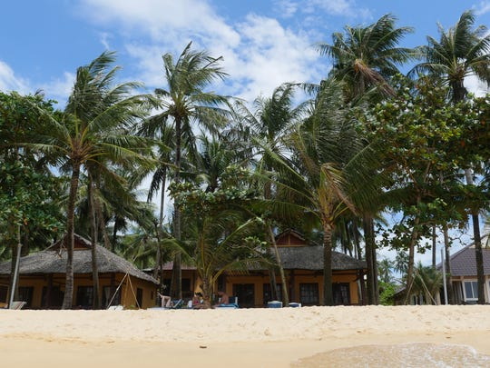 The Sea Star Resort offers bungalows right on Long Beach on the Vietnamese island of Phu Quoc.