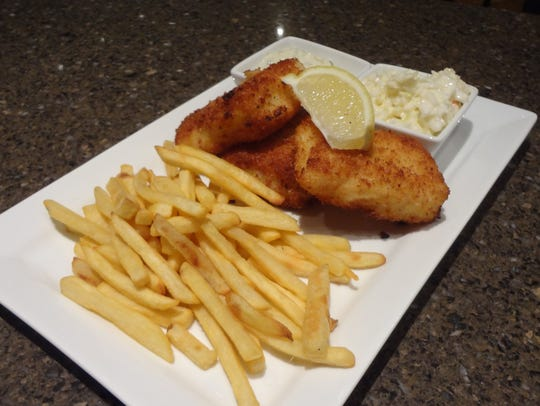 Pourvino offers some decadent seafood options, including its Friday fish fry.