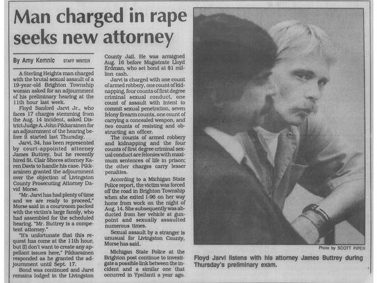 Newspaper clipping of story by Amy Kemnic about the