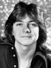 "This April 1972 file photo shows singer and teen idol David Cassidy. Former teen idol Cassidy of ""The Partridge Family"" fame has died at age 67, his publicist said Tuesday."