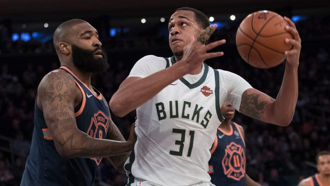 Center John Henson had the best season of his six-year career with the Bucks, but he still got pushed around too much inside and failed to be a force on the glass.