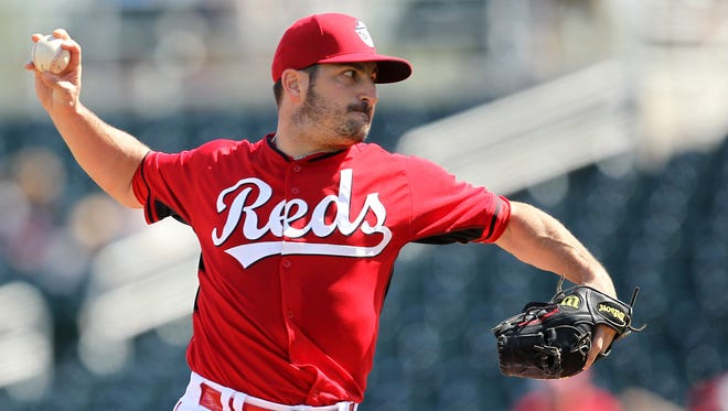Right-hander Jason Marquis pitched two scoreless innings during the 10-0 win against the Cleveland Indians.