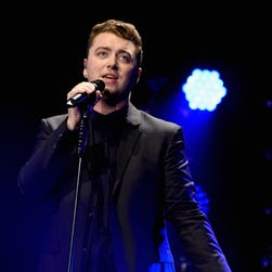 Sam Smith onstage during KIIS FM's Jingle Ball 2014  powered by LINE at Staples Center on Dec. 5, 2014, in Los Angeles.