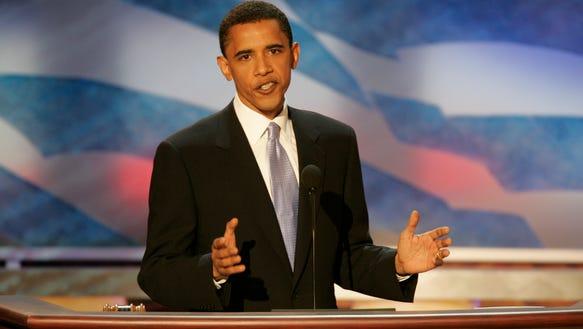 Ten years ago: Obama makes national debut
