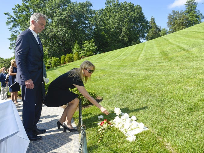 Robert F. Kennedy, Jr. and his wife Cheryl Hines place
