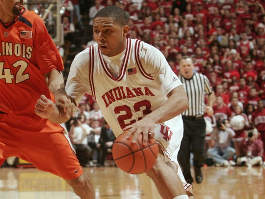 Eric Gordon played just one season in Bloomington.