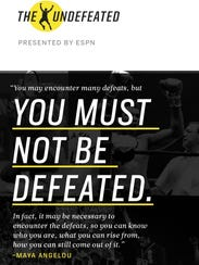 The Undefeated, a new site to be launched by ESPN,