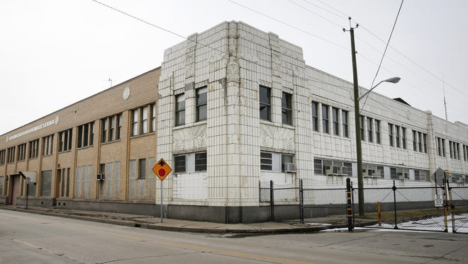 The former Coca-Cola bottling plant, owned by Indianapolis Public Schools, is at the northeast end of Massachusetts Avenue.