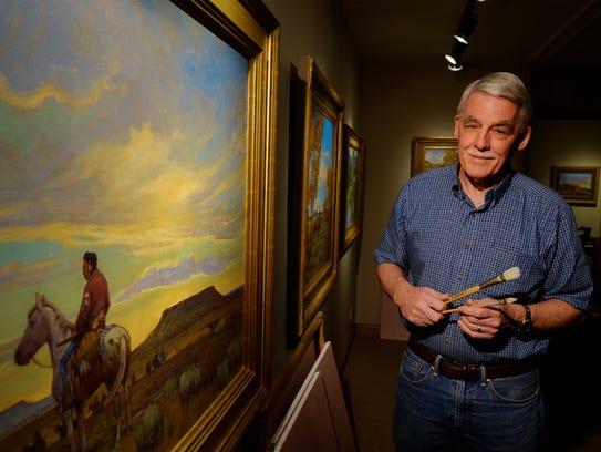 Steve Seltzer, a famous Great Falls artist and grandson