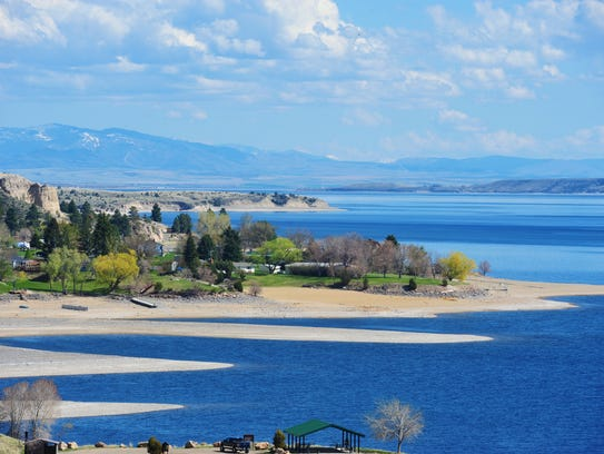 Canyon Ferry Lake and Dam, which is operated by the