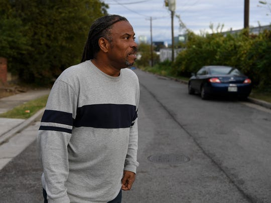 Howard Allen, who has spent time in jail, been shot twice and contended with substance abuse, is homeless and is an advocate for the homeless.