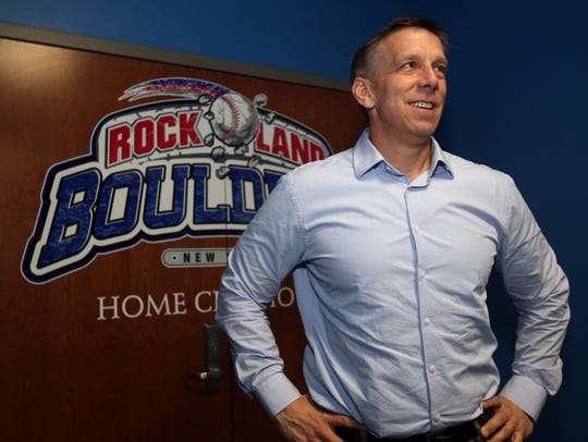 Rockland Boulders President and General Manager Shawn