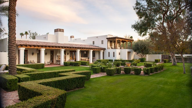 George Brett, Hall of Famer and former third baseman for the Kansas City Royals, and his wife, Leslie, paid $3 million cash for this home in Paradise Valley's Desert View community. There are four bedrooms and five bathrooms in the 5,000-square-foot Spanish-style estate, including a bonus game room, library with built-in bookcase and separate guest house. The backyard features several covered patios, courtyards, Spanish fountain, stone walkways and a private lap pool. Brett was a 13-time All Star and was named the American League's Most Valuable Player in 1980. Scott Fey, commercial real-estate investment specialist for Omni American LLC, and his wife, Dana, sold the home.