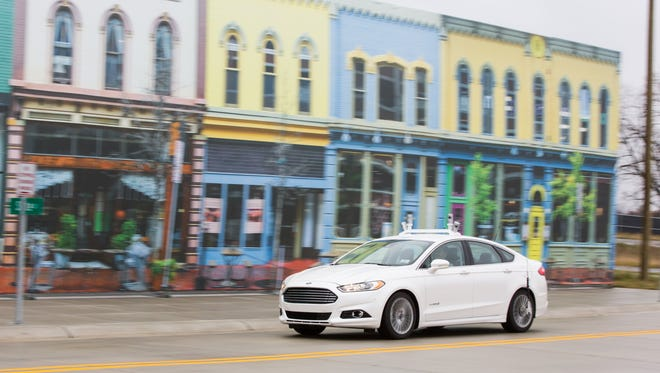 Ford will begin regularly testing is autonomous vehicles at Michigan's Mcity facility, the automaker announced Friday.