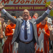 Review: Michael Keaton plays both sides as fascinating McDonald's 'Founder'