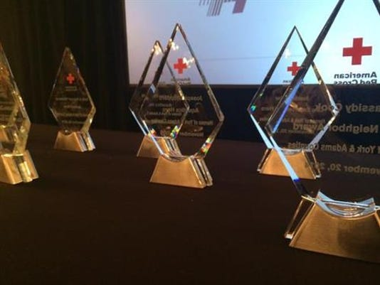 Fifteen people will be honored for their heroics by the American Red Cross South Central Pennsylvania Chapter.