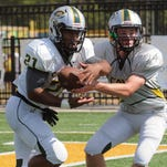 Calvary quarterback Jake Bartley takes over the Cavaliers offense after the departure of standout Shea Patterson.