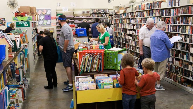 The Friends of the Library will hold its big semi-annual book sale this weekend at the Merovan Center on Woodruff Road.