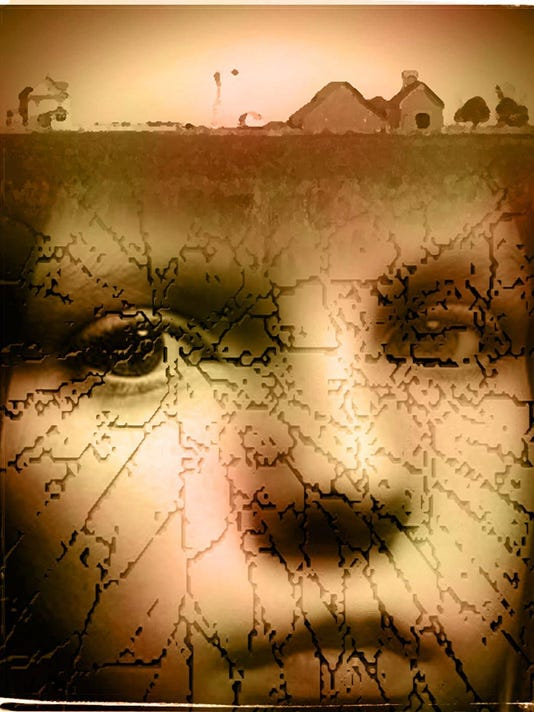 Shattered lives illustration
