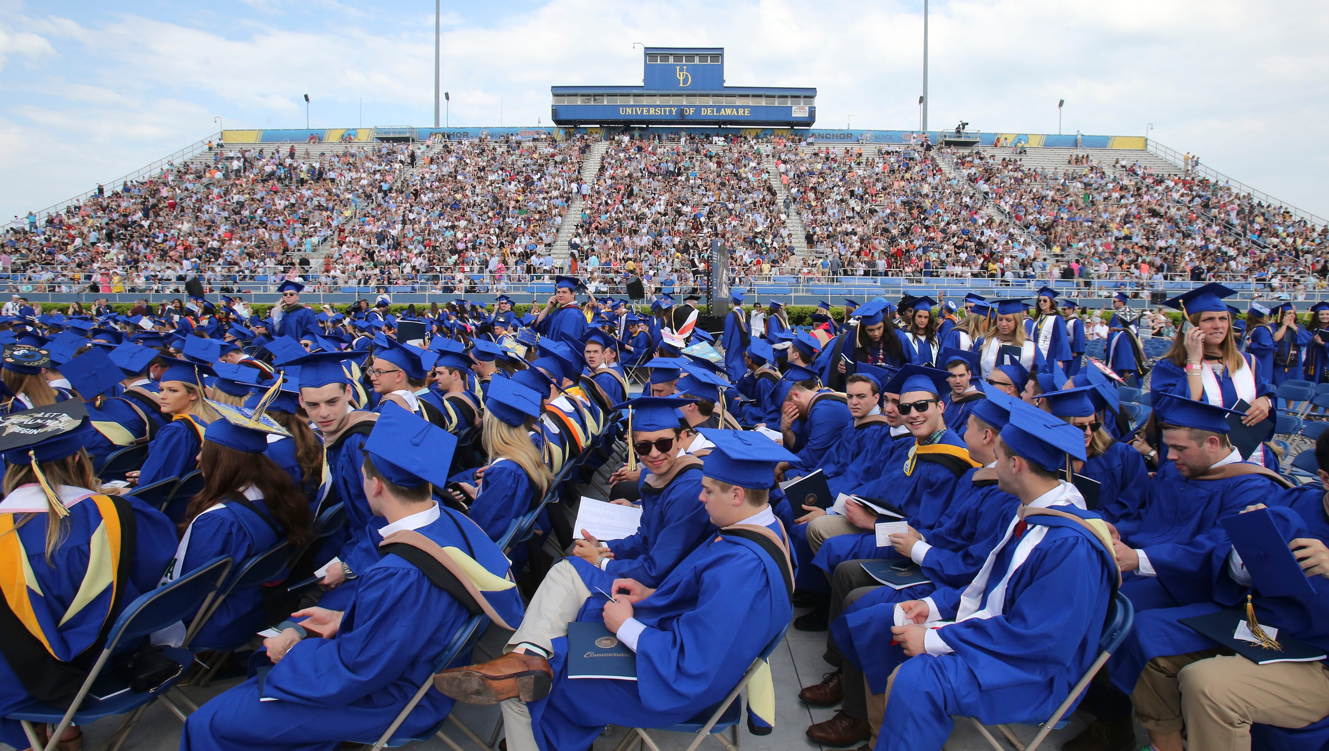 University of Delaware graduation: Here's here's what you need to know