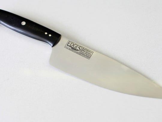One of Edges many custom-made knives