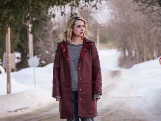 "Emma Roberts stars as Joan in ""The Blackcoat's Daughter."""