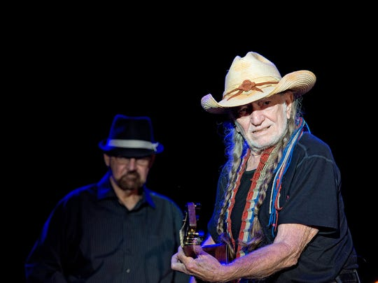 Willie Nelson at Buckle Up.