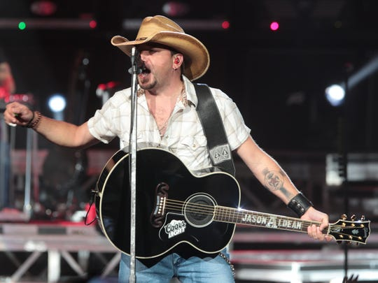 Jason Aldean performs in September at Klipsch Music Center. Burn a few calories this spring by getting down at a concert.