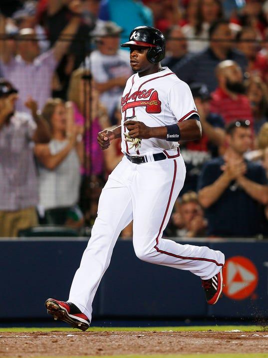 Cardinals Braves Baseball