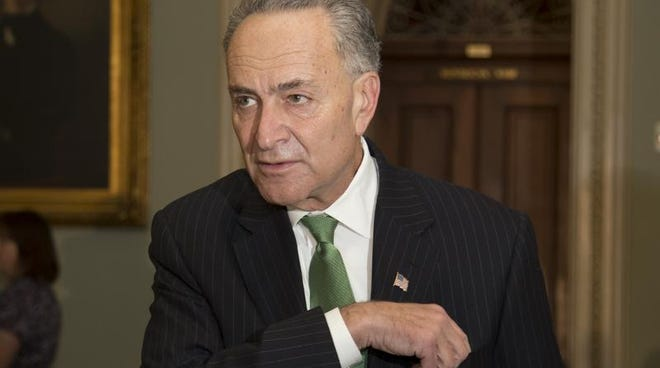 Sen. Charles Schumer, D-N.Y., is shown Oct. 16 on Capitol Hill.