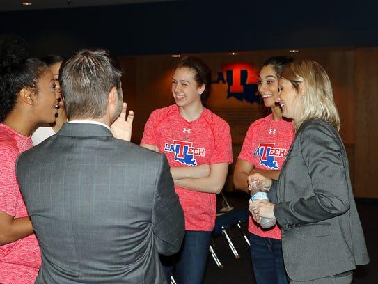 New Louisiana Tech women's basketball coach Brooke