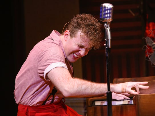 Pittsford native Taylor Gray as Jerry Lee Lewis in