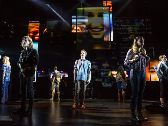 'Dear Evan Hansen' wins the award for best musical