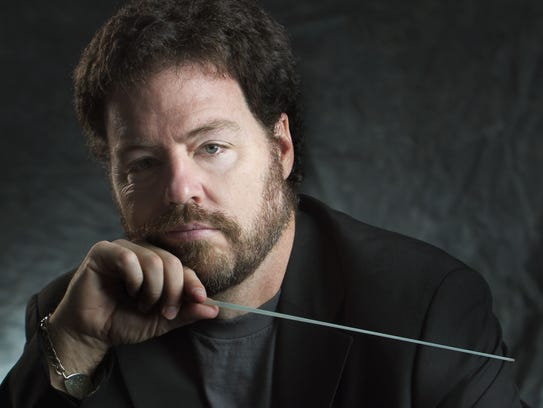 Brent Havens, conductor for Windborne Music.