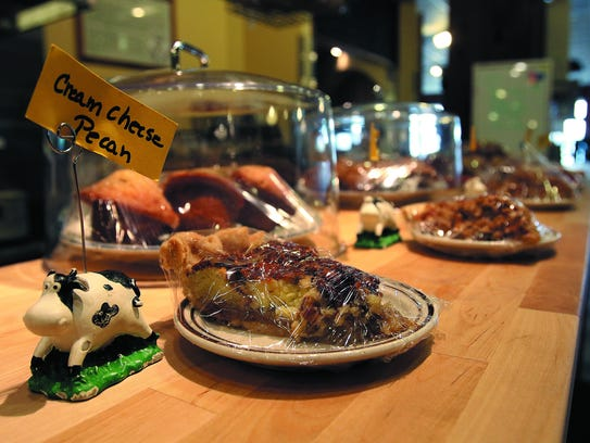 In addition to sandwiches, soups and salads, Loaf & Jug is also well-known for its pies.